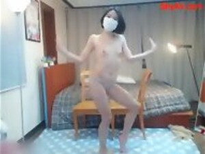 Beautiful Sexy Thin Japanese Babe Takes a White Dick